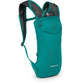 Osprey Kitsuma 1.5 Hydration rygsæk Damer, petroleumsgrøn/grå
